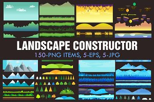 Landscape Constructor Set I