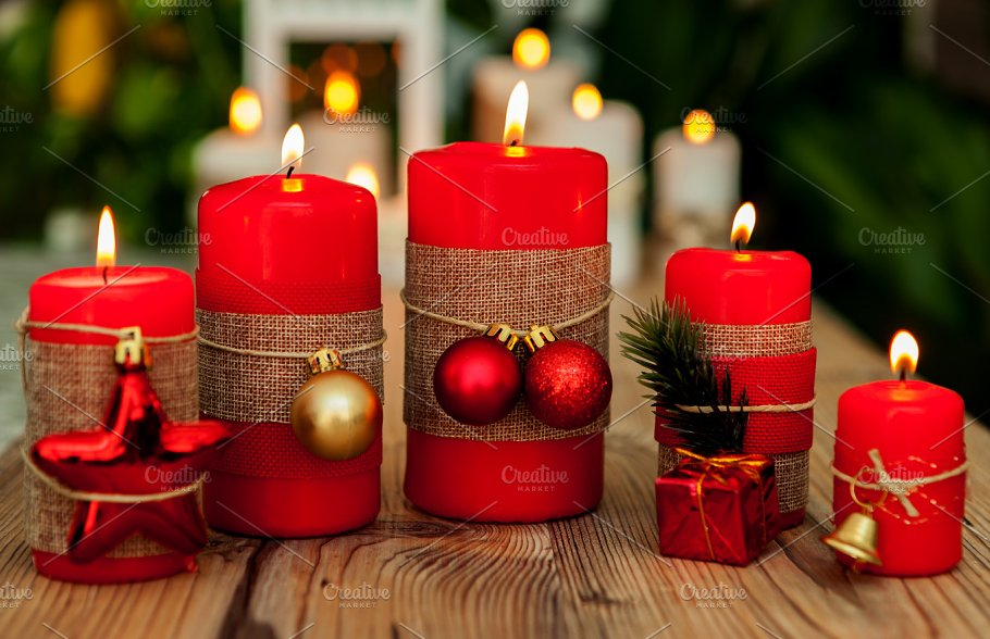 Image result for pictures of christmas candles