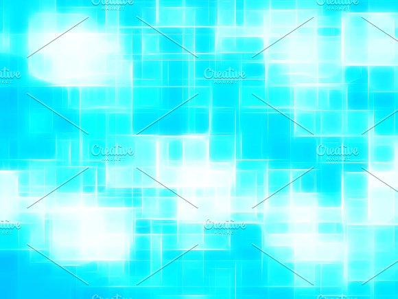 Horizontal cyan canvas texture element