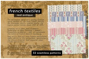 Antique French Textile Patterns