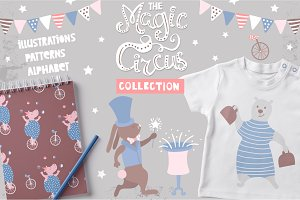 Magic circus graphic collection