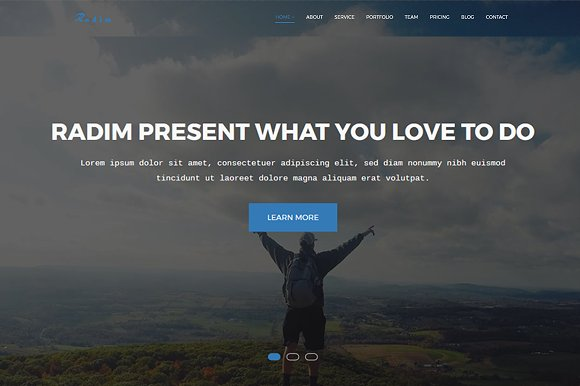 Radim Responsive Business Template
