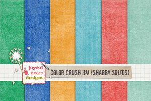 Color Crush 39 {shabby solids}