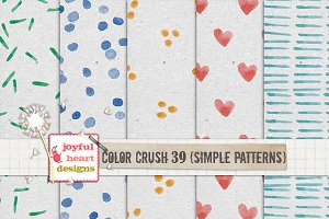 Color Crush 39 {simple patterns}