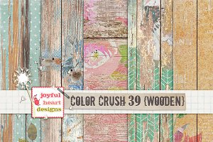 Color Crush 39 {wooden}