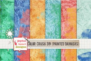 Color Crush 39 {painted damasks}