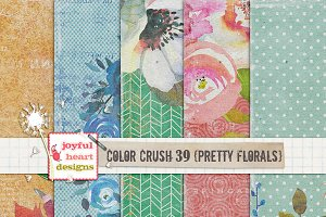Color Crush 39 {pretty florals}