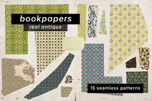 Antique Bookpaper Patterns
