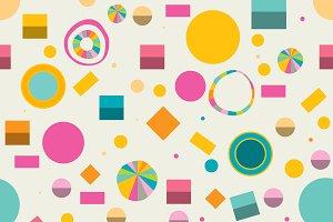 Minimalistic geometric pattern