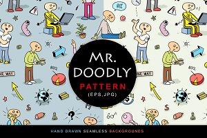 "Funny Pattern ""Mr. Doodly"""