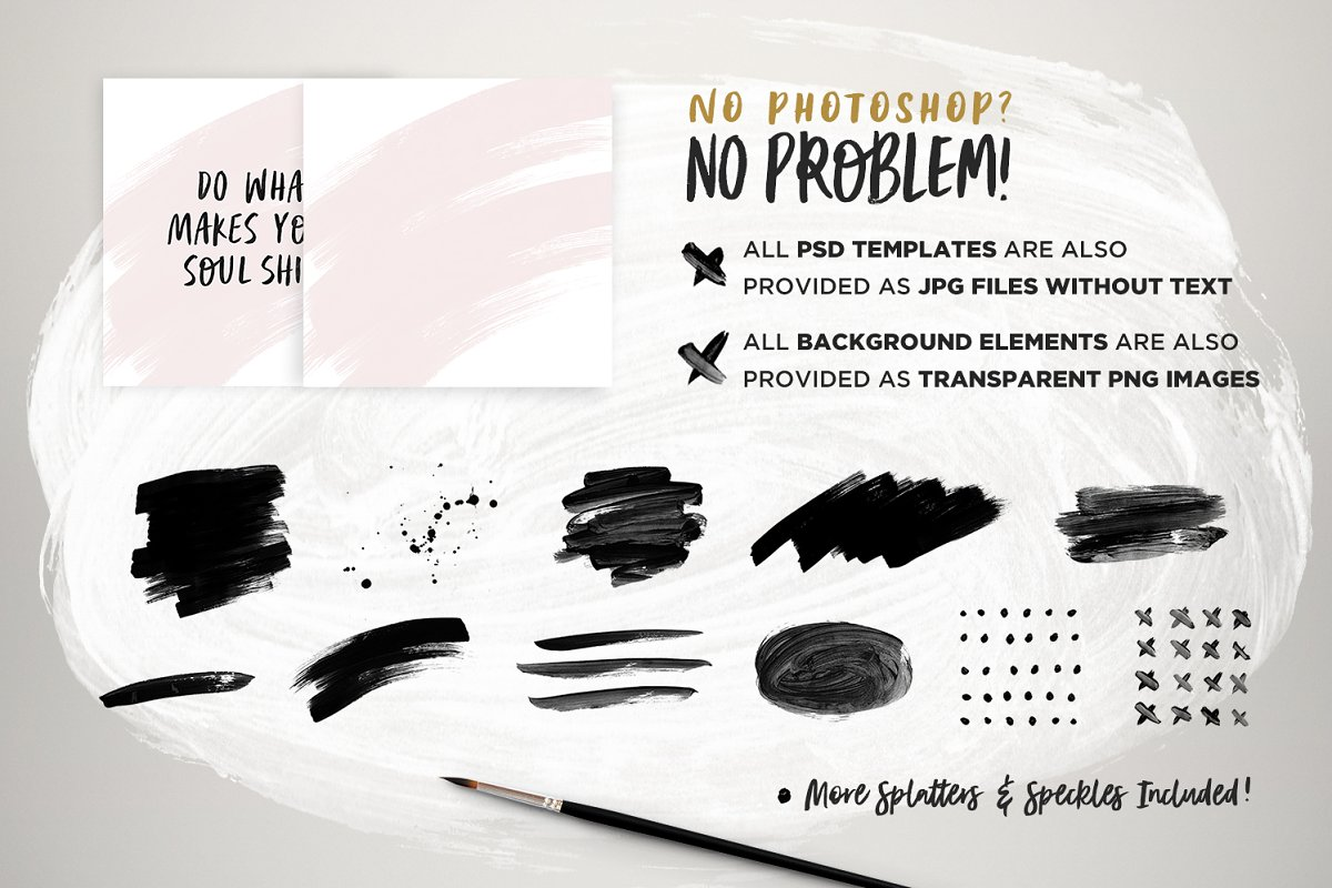 Instaquote Lettering Kit in Lettering Fonts - product preview 3