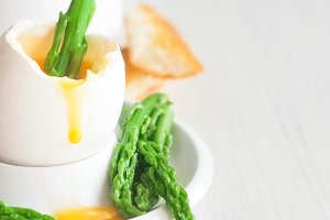 Soft boiled egg