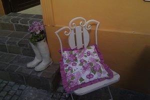 Nice flower boots