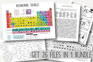 Periodic Table Science Bundle