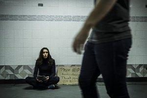 Homeless hopeless