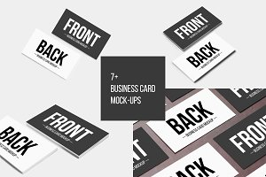 7+ Business Card Mock-Ups