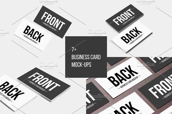 7+ Business Card Mock-Ups