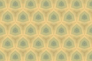 Vintage Blue Toned Abstract Pattern