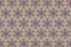 Hexagon and Triange Abstract Pattern