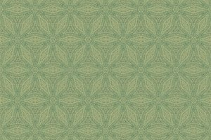 Repeating Green Abstract Pattern