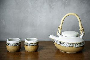 Oriental tea Japanese style