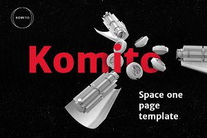 Komito — One Page Template
