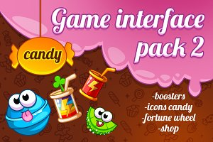 Interface game design (theme candy)