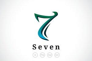 Numeric Seven Logo Template
