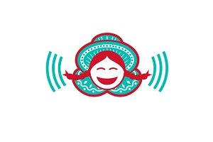 Peruvian Girl Smiling Voice Icon