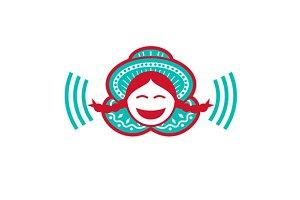Peruvian Girl Smiling Voice Icon