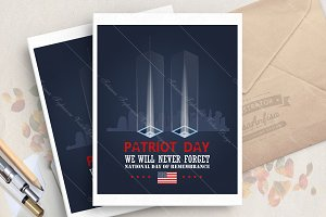 Patriot day. New York. September 11