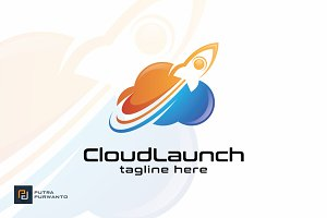 Cloud Launch - Logo Template