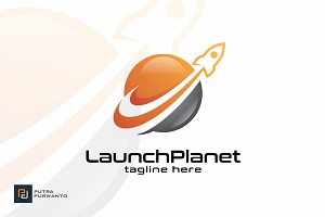 Launch Planet - Logo Template