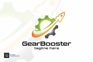 Gear Booster - Logo Template