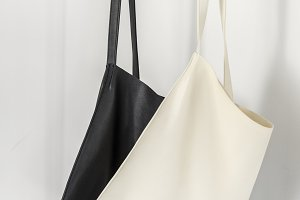 Canvas bag hanging