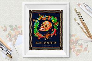 Mexico. Dia de los muertos
