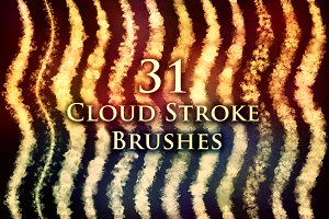 31 Cloud Stroke Brushes