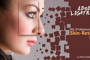 50x Lightroom Skin-Retouch Presets