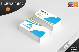 IT Cloud Service Business Cards
