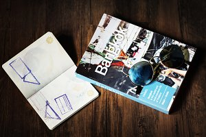 Passport and Bangkok guide book