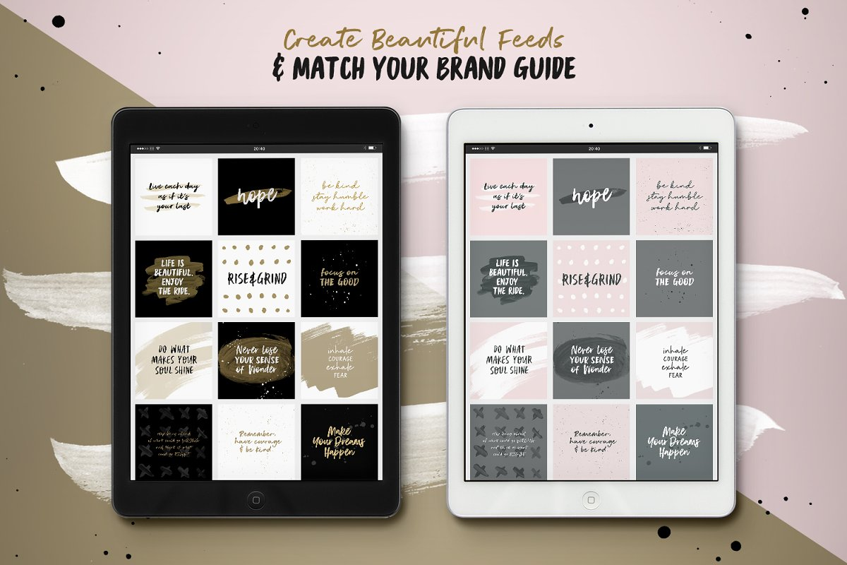 Instaquote Lettering Kit in Lettering Fonts - product preview 5