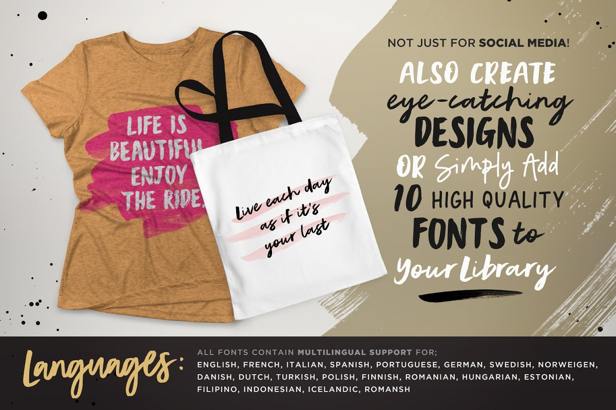 Instaquote Lettering Kit in Lettering Fonts - product preview 6