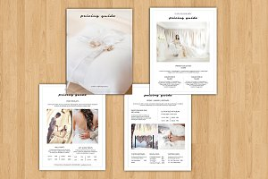 Wedding Photography Price List V616
