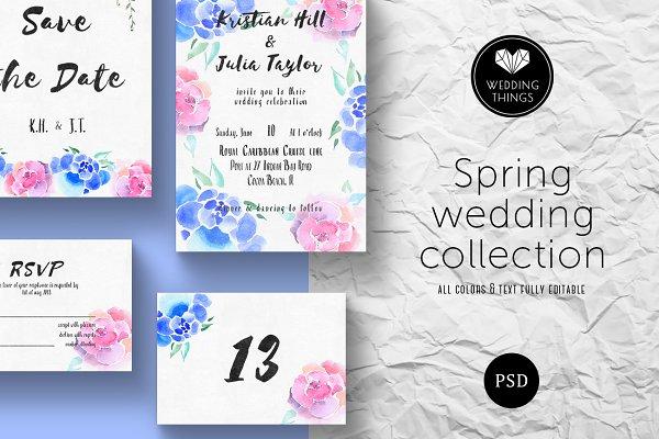 Spring Wedding Template