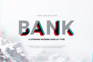 Bank typeface