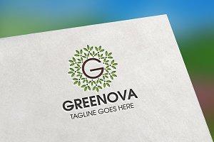 Greenova (Letter G) Logo