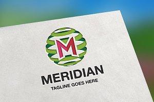 Meridian (Letter M) Logo