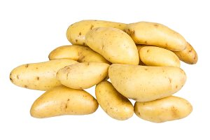 White fingerling potatoes