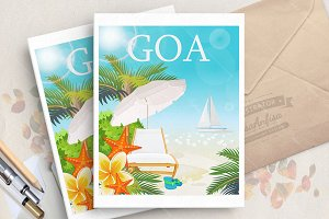India. Travel. Goa.