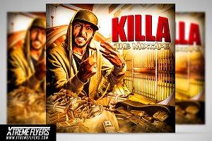 Hip Hop Mixtape CD Cover